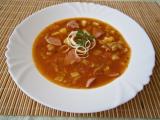Gulášová polévka s použitím šťávy z guláše recept