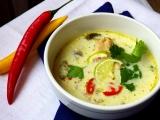 Thajská kuřecí polévka recept