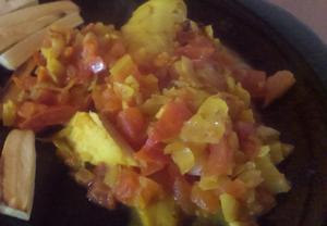 Indické rybí kari