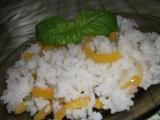 Rýže s paprikou a bazalkou recept