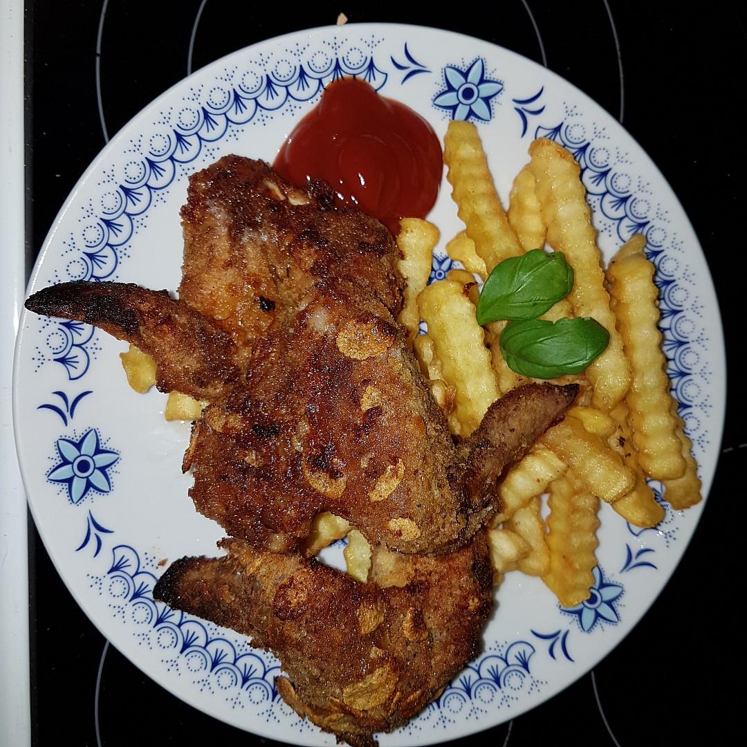 Pikantní kuřecí křidélka jako od KFC recept