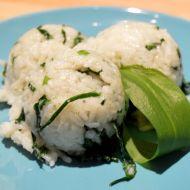 Rýže s medvědím česnekem recept