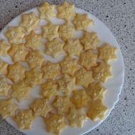 Mandlové linecké hvězdičky recept
