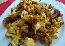 Pečený květák v majonézovo  smetanové směsi recept ...