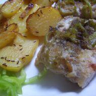 Filé na paprice a bramborách recept