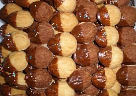 Ořechy mini  cukroví recept