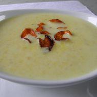 Bílá polévka z tresky recept