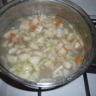 Polévka z kuřecích krků recept