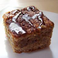 Cuketový koláč s čokoládou recept