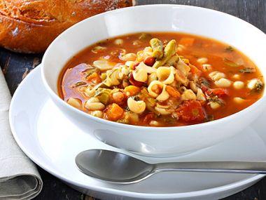 Domácí minestrone