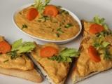 Cizrnová pomazánka s grilovanou paprikou recept