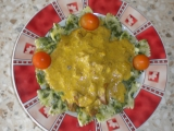 Ledvinky na kari se špenátem recept