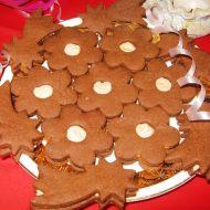 Kakaové cukroví plněné krémem recept