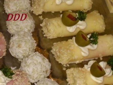 Sýrové roládky s nivou