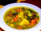 Květáková polévka s batáty recept