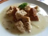 Kyselá houbová polévka recept