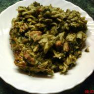 Zapečené těstoviny se špenátem recept