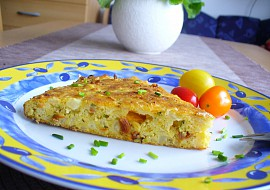 Květákový koláč se sýrem recept