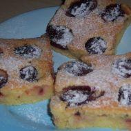 Švestkový koláč s rumem recept