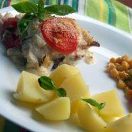 Zapečené rybí filety s rajčaty recept