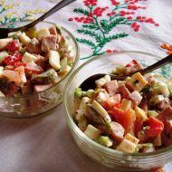Letní salát s čínským zelím recept