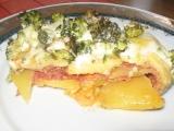 Zapečená brokolička recept