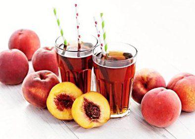 Broskvový domácí ledový čaj recept