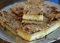 Perníkové řezy s krémem a polevou recept