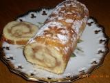 Jablečná roláda  rychlá recept