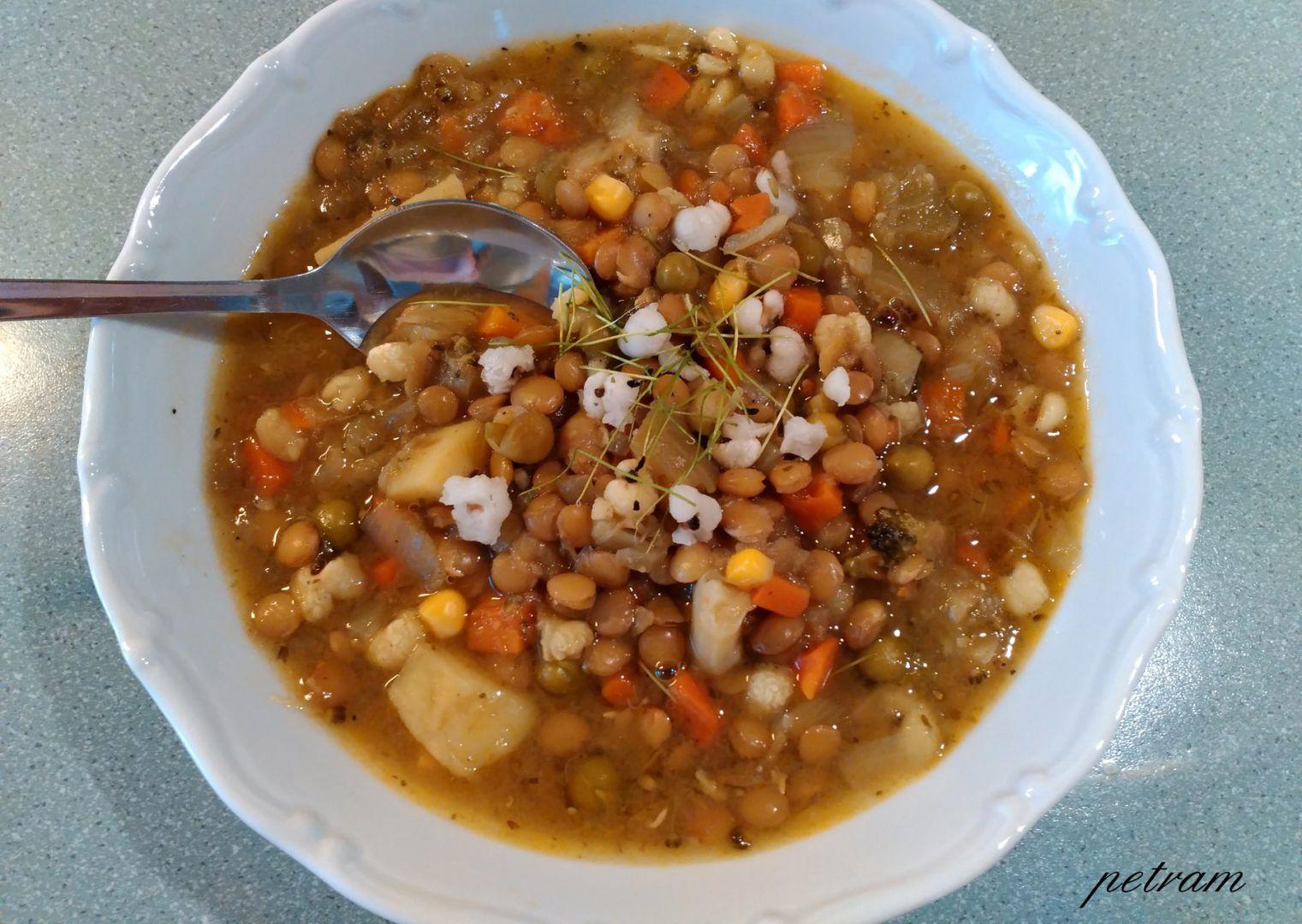 Hustá polévka se slzovkou recept
