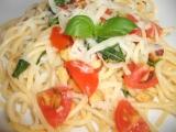 Špagety s bazalkou recept
