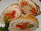 Kuřecí závitky s pórkem recept