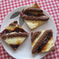 Pruhovaný koláč recept