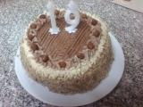 Ořechový dort podle Monči recept