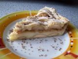 Pudinkovo-jablečný koláč recept