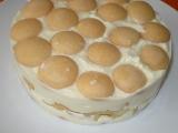 Lehký tvarohový dortík recept