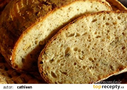 Kváskový chléb se semínky a syrovátkou recept