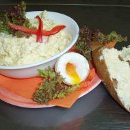 Máslová vajíčková pomazánka recept