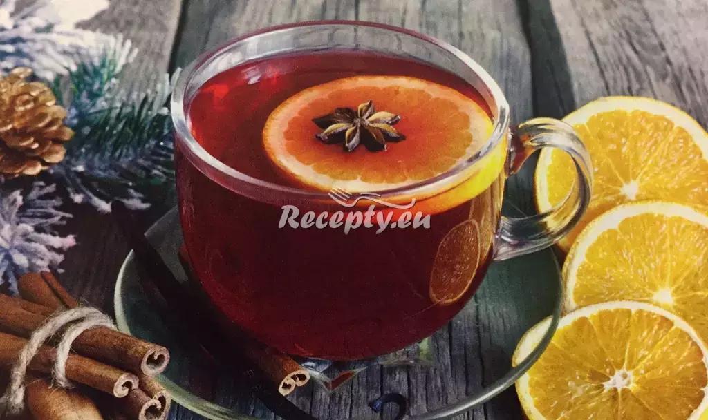 Vánoční čaj recept  slavnostní pokrmy