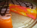 Punčový dort  rychlý  ne pravý recept