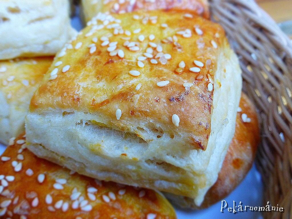 Máslové bramborové pagáčky recept
