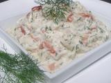 Rybí salát v koprové remuládě recept