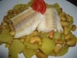 Rybí filé s bílými fazolemi (Tunisko) recept