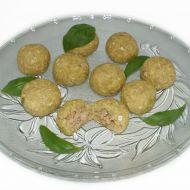 Bramborové kuličky s ovesnými vločkami a sójovým masem recept ...