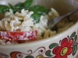 Těstoviny s bazalkou recept