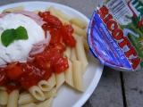 Penne s paradajkami a ricotou recept