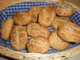 Tvarohové slané houstičky recept