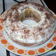 Koňaková bábovka s bílou polevou recept