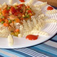 Lehká kuřecí prsíčka se zeleninou recept
