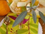 Ovocný salát s medovo-zázvorovou zálivkou recept